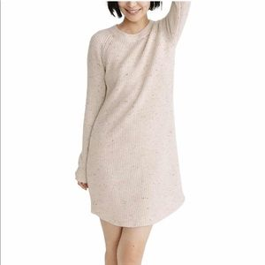 🆕 Madewell Curved Hem Sweater Dress